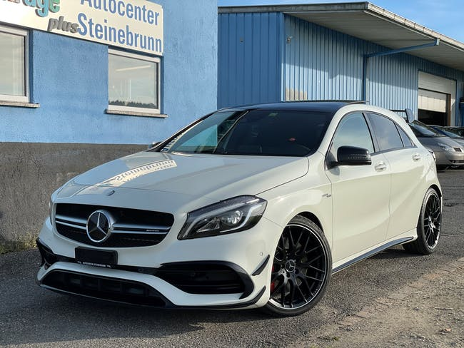 Mercedes-Benz A-Klasse A 45 AMG 4Matic Speedshift 7G-DCT 90'000 km CHF34'800 - buy on carforyou.ch - 1