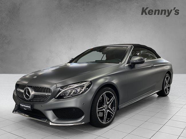 Mercedes-Benz C-Klasse C 200 AMG Line 4Matic Cabriolet 60'000 km CHF37'600 - buy on carforyou.ch - 1