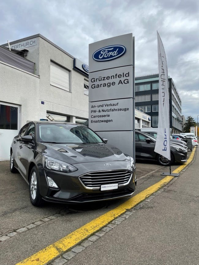 Ford Focus 1.0i EcoB 125 Cool & Connect CHF34'510 - buy on carforyou.ch - 1