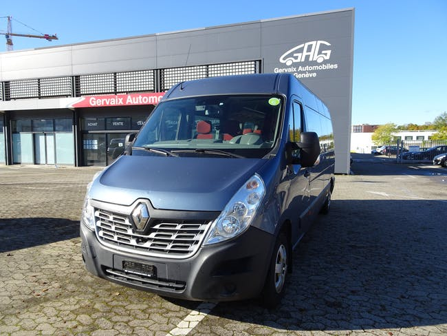 Renault Master T39 ENERGY dCi 145 Minibus 17 L3H2 131'050 km CHF22'900 - buy on carforyou.ch - 1