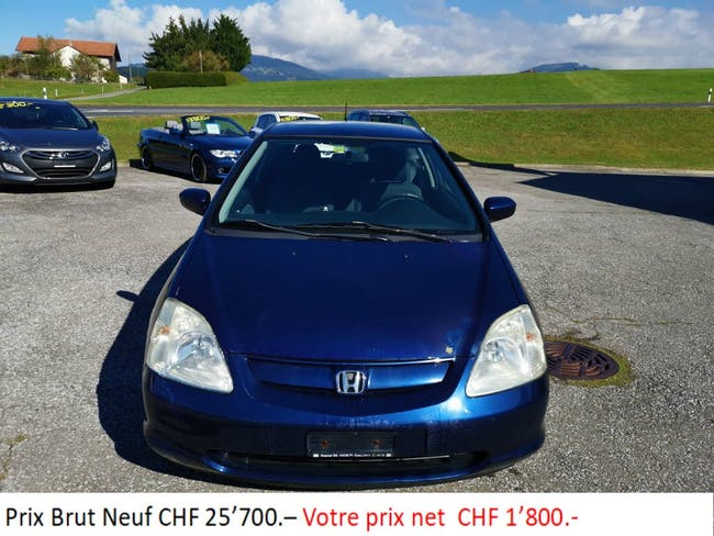 Honda Civic 1.6i LS 233'235 km CHF1'800 - buy on carforyou.ch - 1