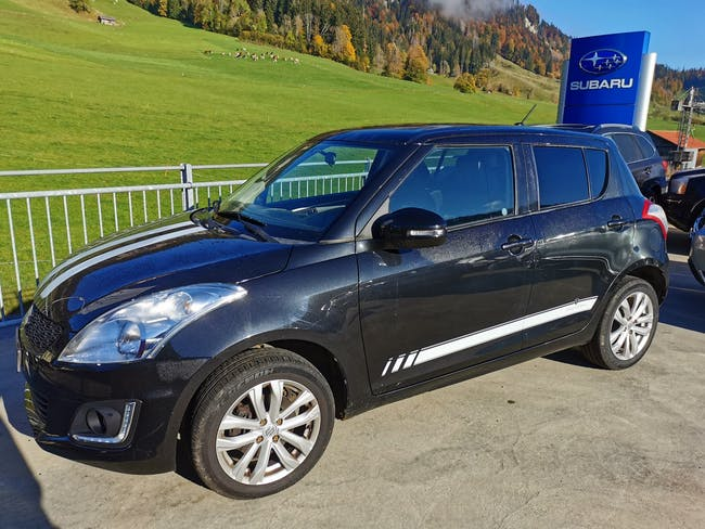 Suzuki Swift 1.2i 16V Sergio Cellano 4x4 66'522 km CHF11'950 - buy on carforyou.ch - 1