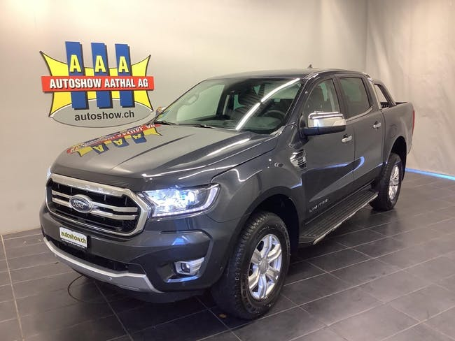 Ford Ranger Limited 2.0 Eco Blue Double Cab 4x4 10 km CHF44'500 - buy on carforyou.ch - 1